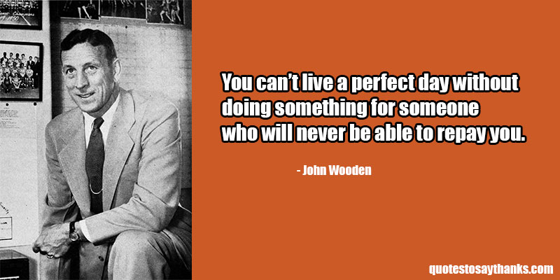 John Wooden Archives - Thank You Quotes