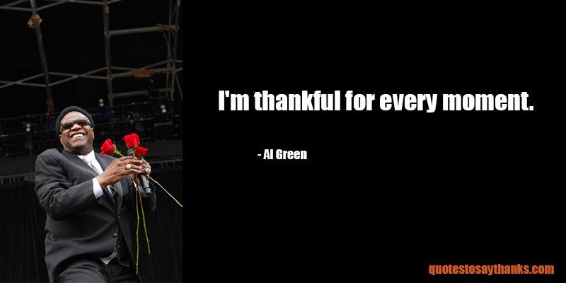 Al Green Quotes