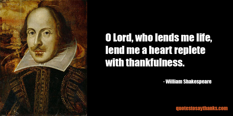 William Shakespeare Archives - Thank You Quotes