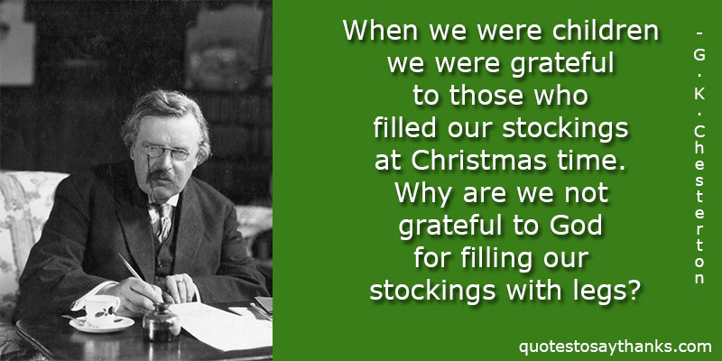 G.K. Chesterton Quotes