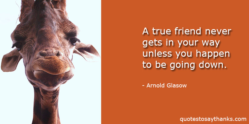 Arnold Glasow Quotes