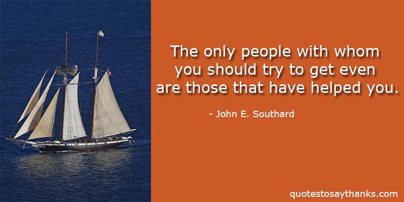 John E Southard Quotes