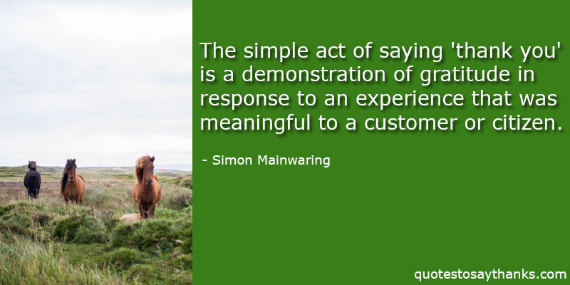 Simon Mainwaring Quotes