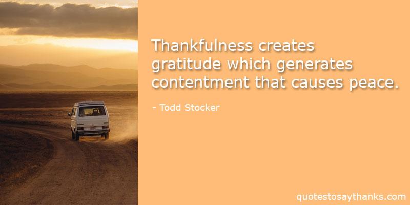 Todd Stocker Quotes