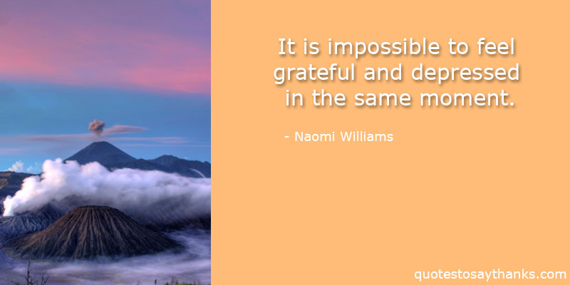 Naomi Williams Quotes