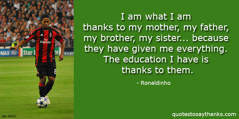 Ronaldinho Quotes