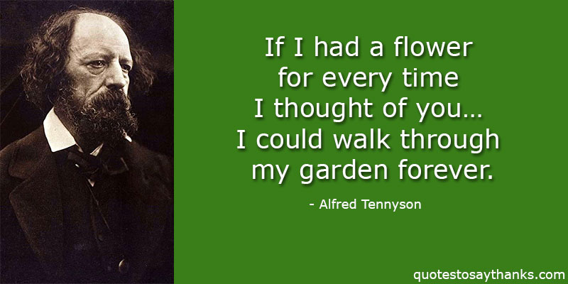 Alfred Tennyson Quotes