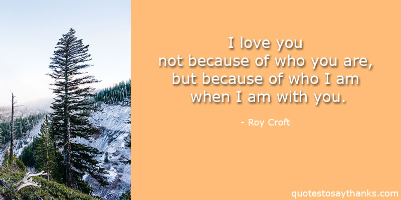 Roy Croft Quotes