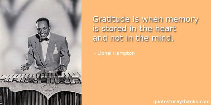 Lionel Hampton Quotes