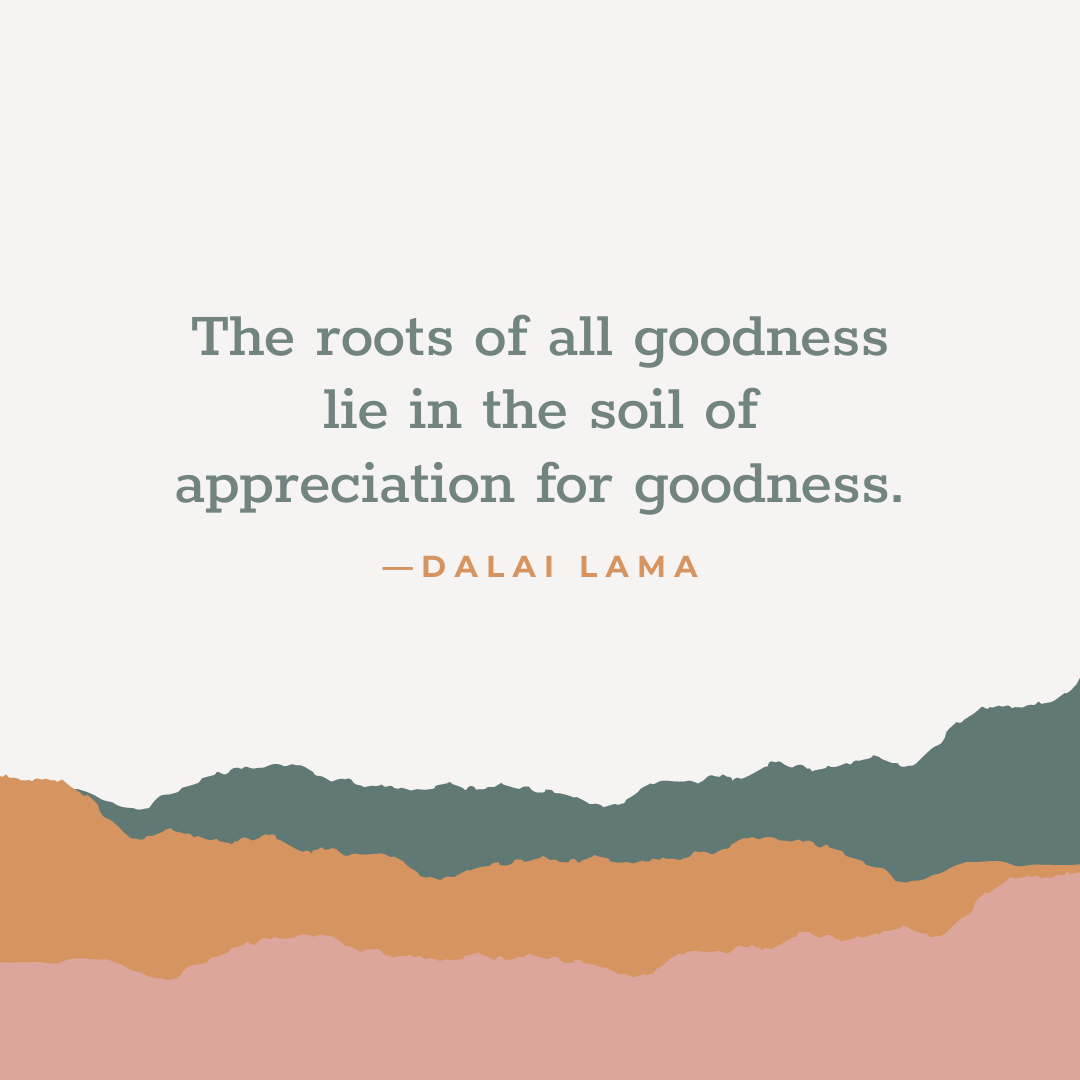 roots of all goodness